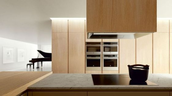 meuble moderne de cuisine en bois : Velvet Elite par Ged Cucine