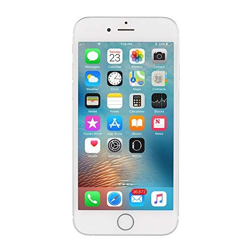Apple Iphone 6s 64gb Silver For At T T Mobile Renewed In 2020 Apple Iphone Iphone Apple Iphone 6s