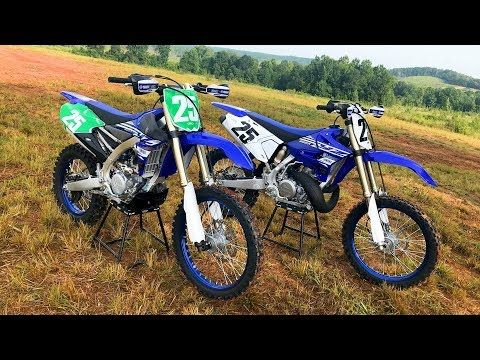 Choose Your Weapon 2 Stroke Vs 4 Stroke 2019 Yamaha Yz250x And Yz250fx Dirt Bike Magazine Youtube Dirt Bike Magazine Yz250fx Yamaha