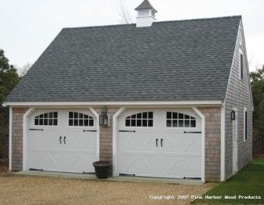 Detached garage the doors and pictures on pinterest for Carriage door plans