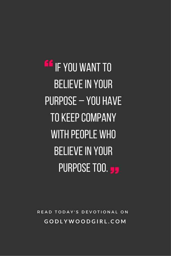 Surround yourself with likeminded believers. Read how on today's daily devotional for women ==> godlywoodgirl.com Motivation Quote: