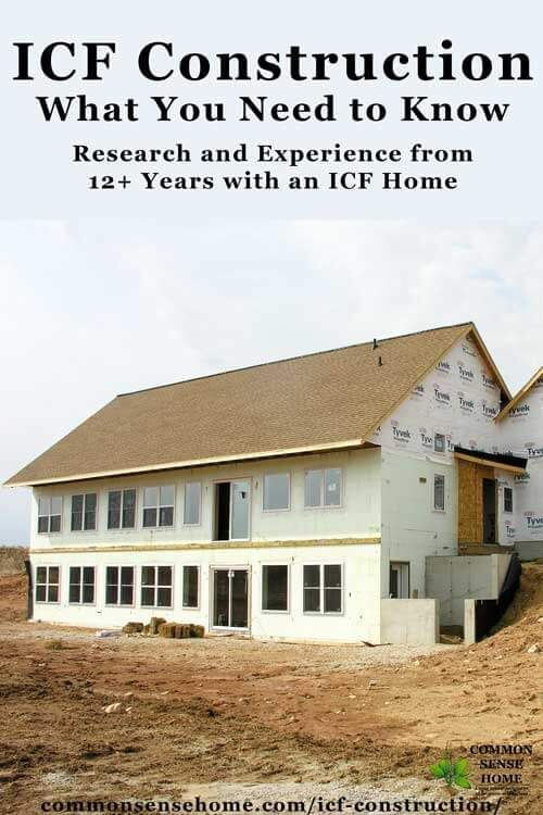Icf Construction What You Need To Know About An Icf Home Total Survival Icf Home Insulated Concrete Forms Concrete House