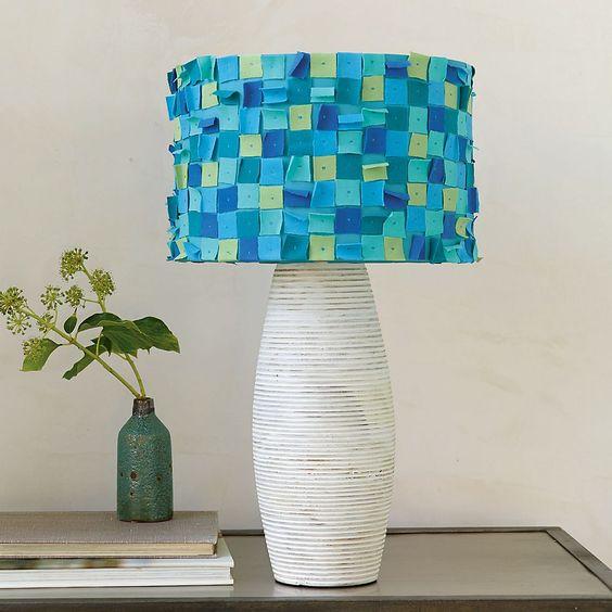 Dorm Decor: Confetti Lampshade: Decor Ideas, Confetti Lampshade, Decorating Ideas, Decor Secret, Bedroom Decorating, Bright Colors, Decor Confetti, Lampshade Fun