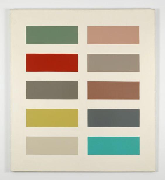 Zehn Farben | Gerhard Richter, Zehn Farben (1966)