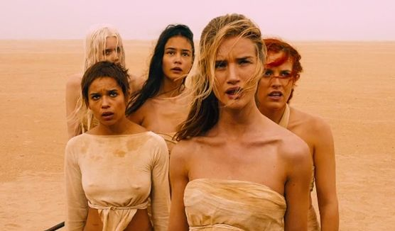 Mad Max : Fury Road (showing: The Splendid Angharad, Capable, Toast the Knowing, Cheedo the Fragile, and The Dag.)