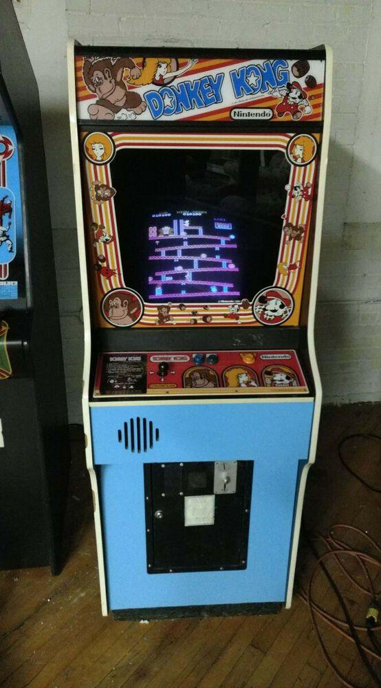 Ebay Sponsored Donkey Kong Video Arcade Game Authentic