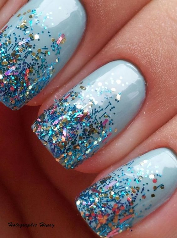 Holographic Hussy: China Glaze Kinetic Candy and Nicole By OPI A Million Sparkles