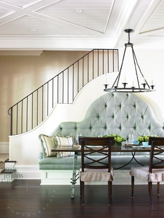 dramatic banquette