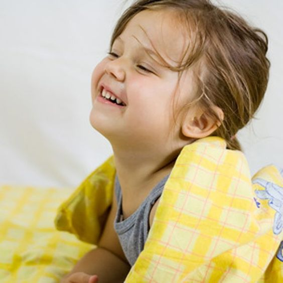 Treat your child's sensory processing disorder with a comfortable weighted blanket.