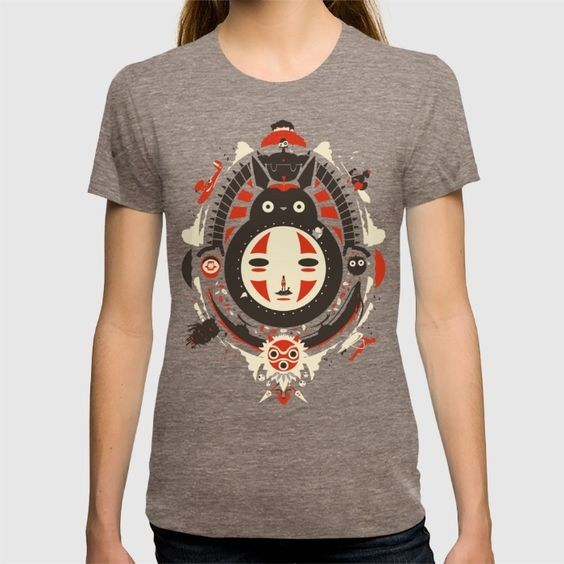 society 6 - Ghibli studios Tshirt - look at it it's so cool it's got everything!