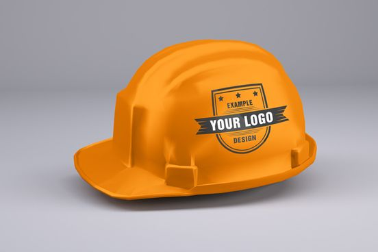 Safety Helmet Mockup Generator Online Mockup Generator Psd Templates Desenho De Capacete