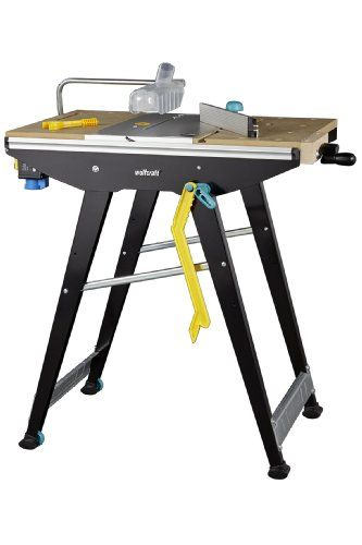 Wolfcraft 6906000 workbench for master cut 1500 machines for Table wolfcraft