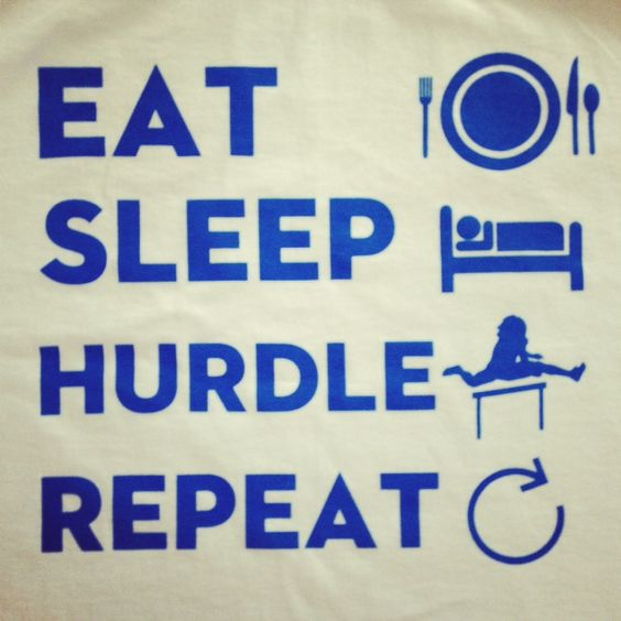 Life Hurdles Quotes: Running, Eat Sleep And I Don't Care On Pinterest