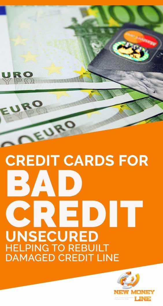 Credit Cards For Bad Credit Unsecured Helping To Rebuilt Damaged