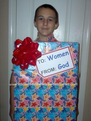 Homemade God's Gift Box Costume for Trey hahahaha: Halloween Costume Kids, Gift Boxes, Funny Halloween Costumes, Box Costume, Adult Costume, God S Gift