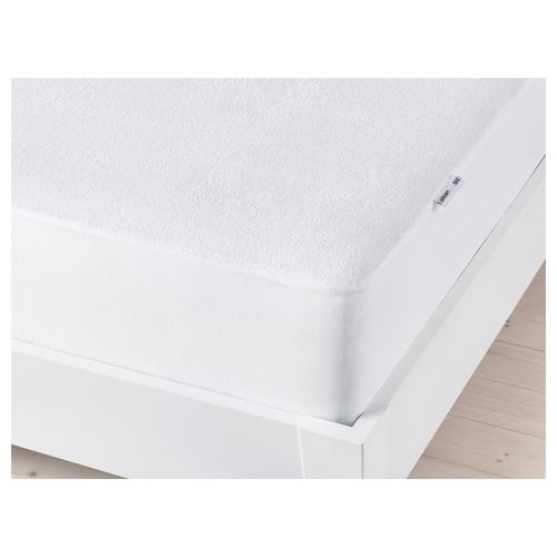 Utaker Stackable Bed With 2 Mattresses Pine Meistervik Twin Ikea In 2020 Mattress Protector Ikea Mattress