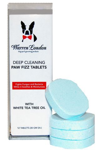 Deep Cleaning Paw Fizz Tablets - Eliminate Paw Licking!