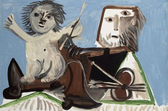 Pablo Picasso - Le Peintre et l'Enfant