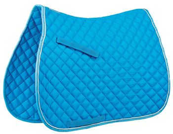 15.92 Roma Contrast Piping All-Purpose Saddle Pad