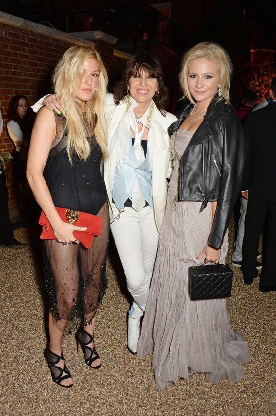 Pin for Later: La Question Est: Avec Qui Ellie Goulding N'est-Elle Pas Amie? Ellie Goulding, Chrissie Hynde et Pixie Lott