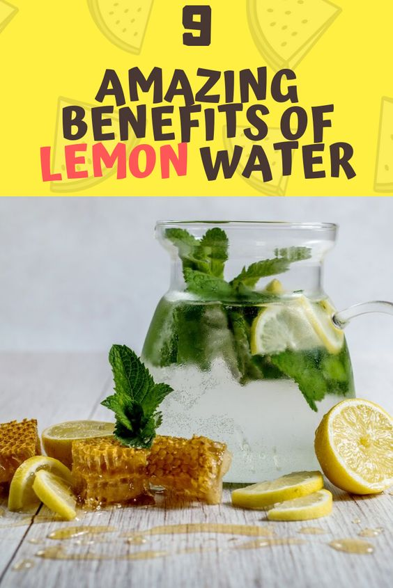 Lemon water benefits 70317