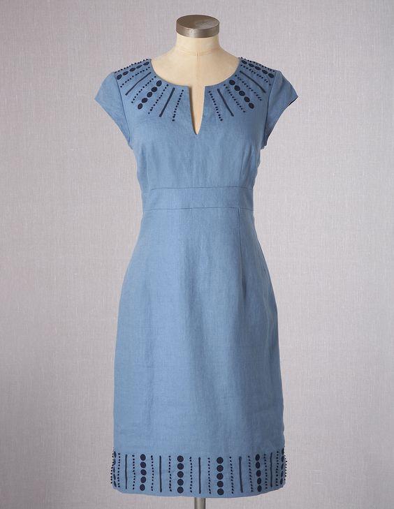 Sorrento Dress WH455 Knee Length Dresses at Boden