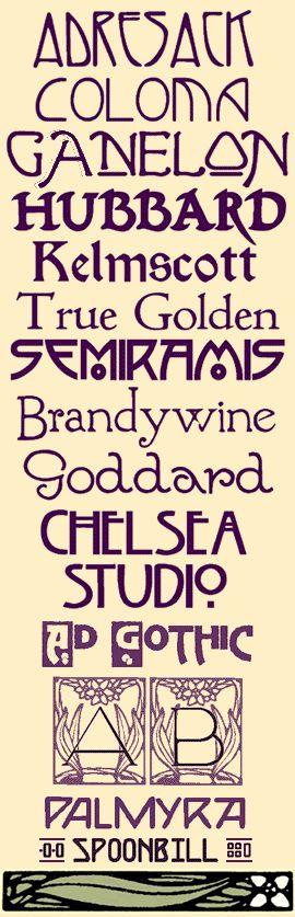 Anyone know good art deco or depression era fonts? - Democratic Underground