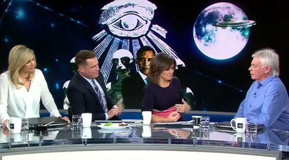 """Conspiracy theorist David Icke claims he was verbally abused by Australian TV hosts after they aggressively challenged him on his belief that the moon is a hollow space station.     Icke slammed chat show hosts Lisa Wilkinson and Karl Stefanovic for their behavior during the Thursday morning interview, accusing them of being """"childish and superficial."""" The eccentric former journalist, who is currently touring Australia and presenting 12-hour seminars, said he was also abused by another team…"""