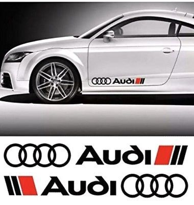 Tsg Audi A1 A2 A3 A4 A5 A6 A7 A8 Vinyl Sticker Decal Pack X2 Audi Motor Audi A1 Car Decals Stickers