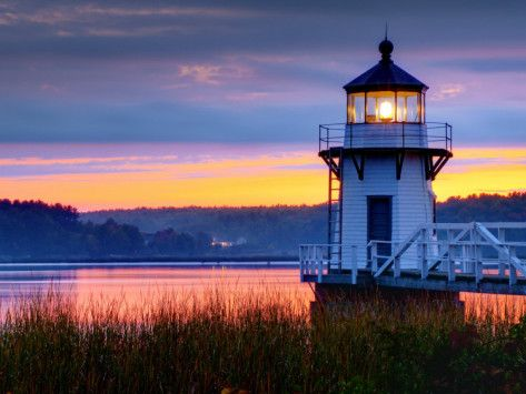 Maine Doubling Point Lighthouse Usa Pinterest Beautiful To Find Out And Places To Visit