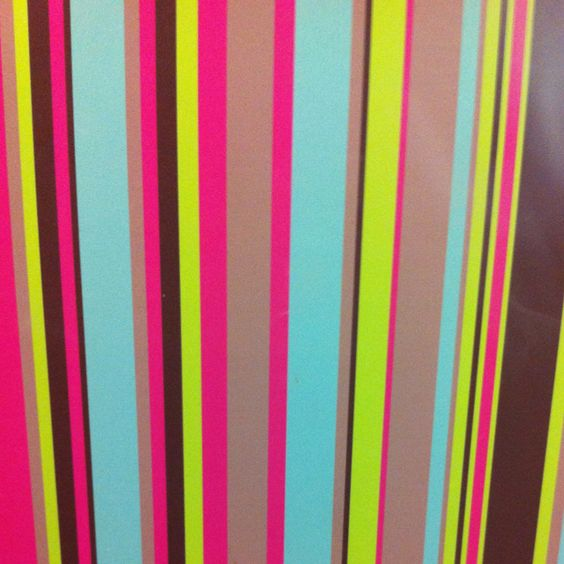 Colourful stripes!