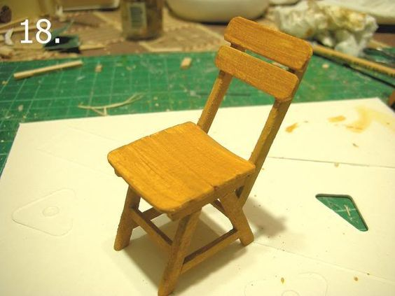 Miniature  chair How-to
