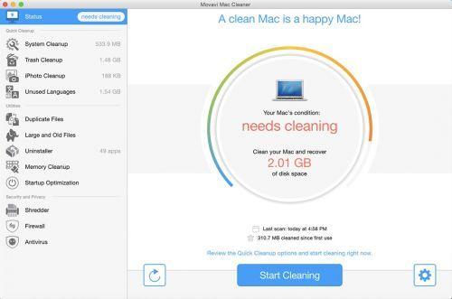 Movavi System Cleaner & Antivirus 1.0 Multilingual MacOSX | 161 MB   Système Movavi Cleaner & Antivirus 1.0 MacOSX multilingue |161 MB  System Cleaner & Antivirus Movavi est une application puissante et facile à utiliser pour les systèmes OS X qui permettra d'accélérer votre Mac et le protéger contre toute une gamme de cybermenaces.Lorsque les ordinateurs commencent à courir lentement il est souvent parce que le disque dur est bouché avec des fichiers inutiles qui ne connaissait même pas…
