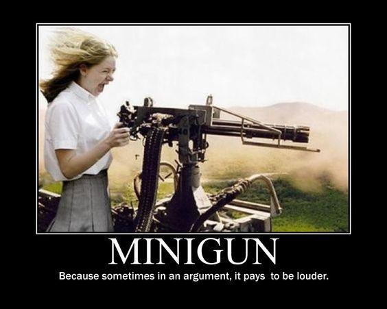 likes machine gun meme