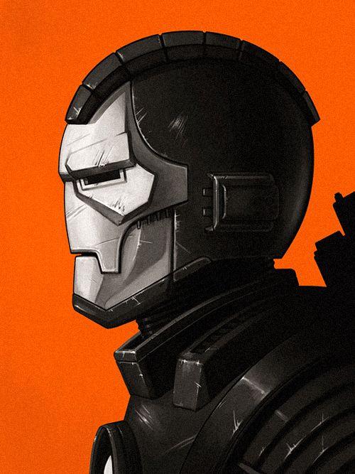#Iron #Man #Fan #Art. (War Machine) By: Mike Mitchell. [THANK U 4 PINNING!!]
