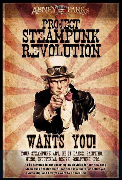 Abney Park wants you!