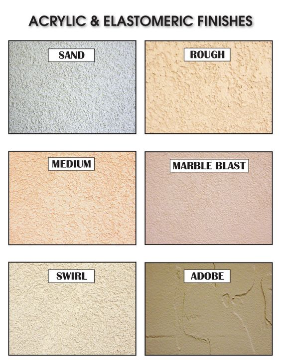 Acrylic stucco finishes home pinterest stucco - Different exterior wall finishes ...