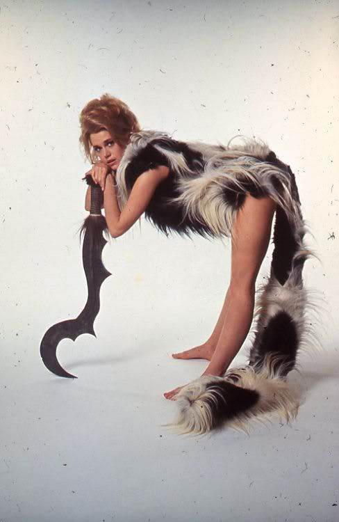 Jane Fonda as Barbarella: