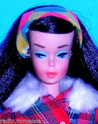 Stunning Vintage 1966 Midnight Black Color Magic Barbie 1150 Japan in Dolls & Bears, Dolls, Barbie Vintage (Pre-1973) | eBay