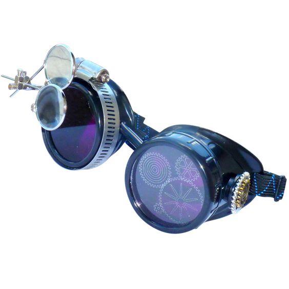 SteAMPunk Brille viktorianischen Brille Diesel Punk - P05 LImiTEd von rustyobservatory auf Etsy https://www.etsy.com/de/listing/384935602/steampunk-brille-viktorianischen-brille
