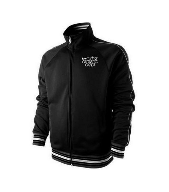 Chaqueta 433670 010 Negro Nike Trainer