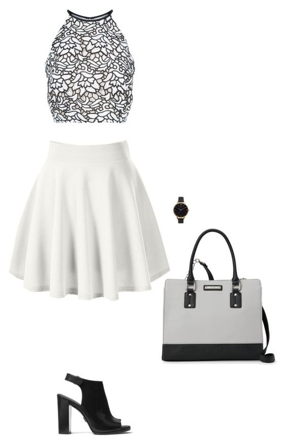 """Untitled #548"" by broken-scene-queen on Polyvore featuring Keepsake the Label, Nine West, Michael Kors and Olivia Burton"