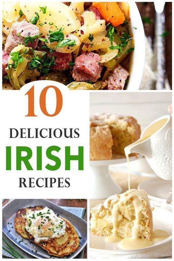 10 Delicious Irish Recipes