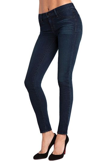 mid rise with a lot of stretch! JBrand $205