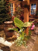 Garden designers at the Northwest Flower & Garden Show in Seattle stepped up to the podium. Now it's time for Portland, first at the Home & Garden Show this week; next weekend at the Yard, Garden & Patio Show.