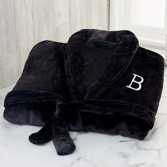 Boxing Glove and Personalised NAME EMBROIDERED ON Towel Bathrobes Hooded