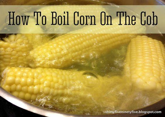 Skinny Kitchen Corn On The Cob Recipe