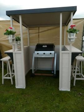 Barbecue Shelter Amp Bar Bbq Shelter Pinterest Gardens