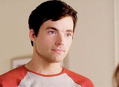 Ian Harding and his chin dimple