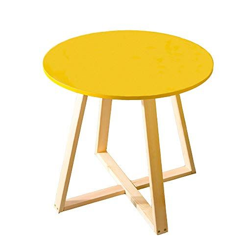 Liruipengbj Gwdj Side Table Solid Wood Reinforce Small Tea Table
